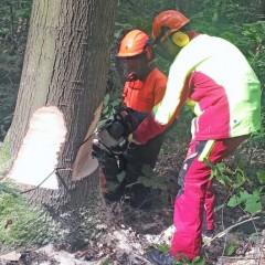 Feuerwehrangehörige für Sturmeinsätze gerüstet
