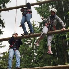 """""""Wir sind ein Team!""""– Jugendfeuerwehr auf Klettertour"""