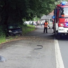 65-Jähriger bei Verkehrsunfall verletzt