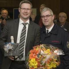 Stellvertretender Feuerwehrchef im Rat verabschiedet