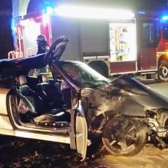 19jähriger bei Verkehrsunfall verletzt