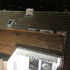 40 Quadratmeter Dachhaut weggeweht