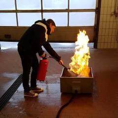 Brandschutzhelferinnen ausgebildet