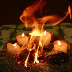 Brandschutztipps für die Advents- u. Weihnachtszeit